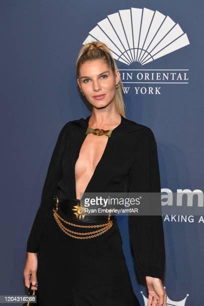 Ashley Haas attends the 2020 amfAR New York Gala on February 05, 2020 in New York City.