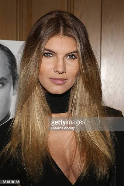 Ashley Haas attends The Cinema Society Hosts a Screening of HBO's The Young Pope on January 11 2017 in New York City