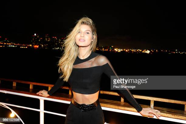 Ashley Haas attends The Cinema Society With Synchrony And Avion Host The After Party For Marvel Studios' AntMan And The Wasp at The Water Club...