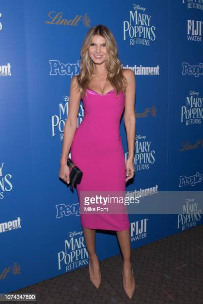 Ashley Haas attends The Cinema Society's screening of Mary Poppins Returns cohosted by Lindt Chocolate at SVA Theatre on December 17 2018 in New York...