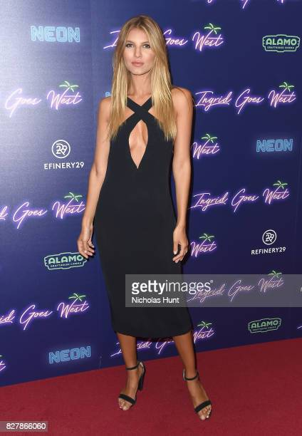 Ashley Haas attends the Neon Hosts The New York Premiere of Ingrid Goes West at Alamo Drafthouse Cinema on August 8 2017 in the Brooklyn borough of...