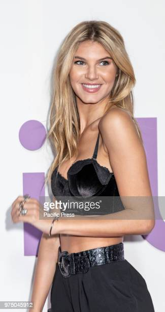 Ashley Haas attends the New York special screening of the Netflix film 'Set It Up' at AMC Loews Lincoln Square