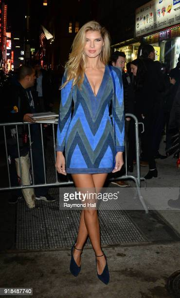 Ashley Haas attends the Sports Illustrated Swimsuit 2018 launch event at the Moxie Hotel on February 14 2018 in New York City