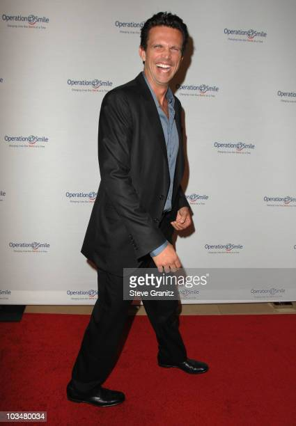 Ashley Hamilton arrives at Operation Smile's 8th Annual Smile Gala at The Beverly Hilton Hotel on October 2 2009 in Beverly Hills California