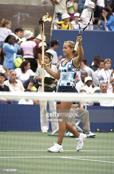 Ashley Harkleroad during Arthur Ashe Kids' Day Tennis Festival at USTA National Tennis Center Grounds in Queens New York United States