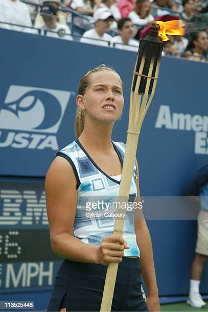 Ashley Harkleroad during US Open Kicks Off With Arthur Ashe Kids Day at Arhur Ashe Stadium in Flushing Meadows New York United States