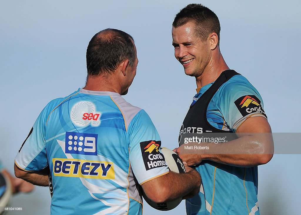 Gold Coast Titans Training Session