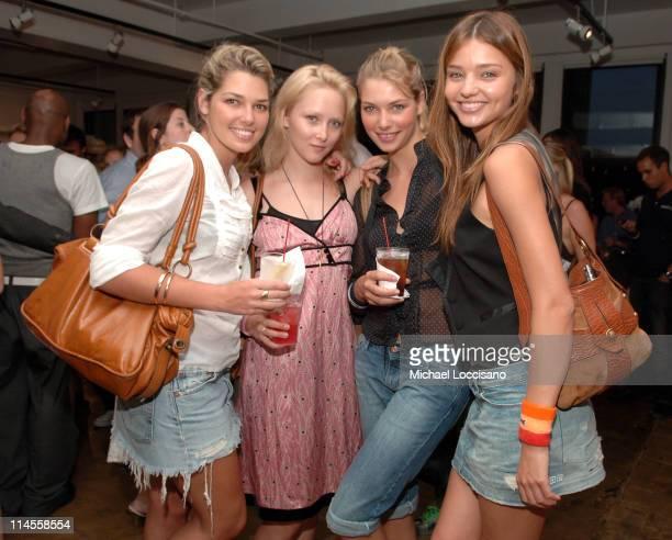 Ashley Hart Amy Finllayson Jessica Hart and Miranda Kerr