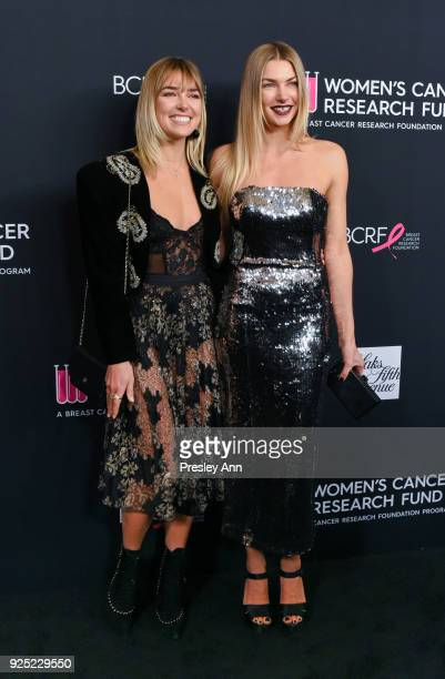 Ashley Hart and Jessica Hart attend The Women's Cancer Research Fund's An Unforgettable Evening Benefit Gala Arrivals at the Beverly Wilshire Four...