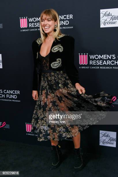 Ashley Hart attends The Women's Cancer Research Fund's An Unforgettable Evening Benefit Gala Arrivals at the Beverly Wilshire Four Seasons Hotel on...