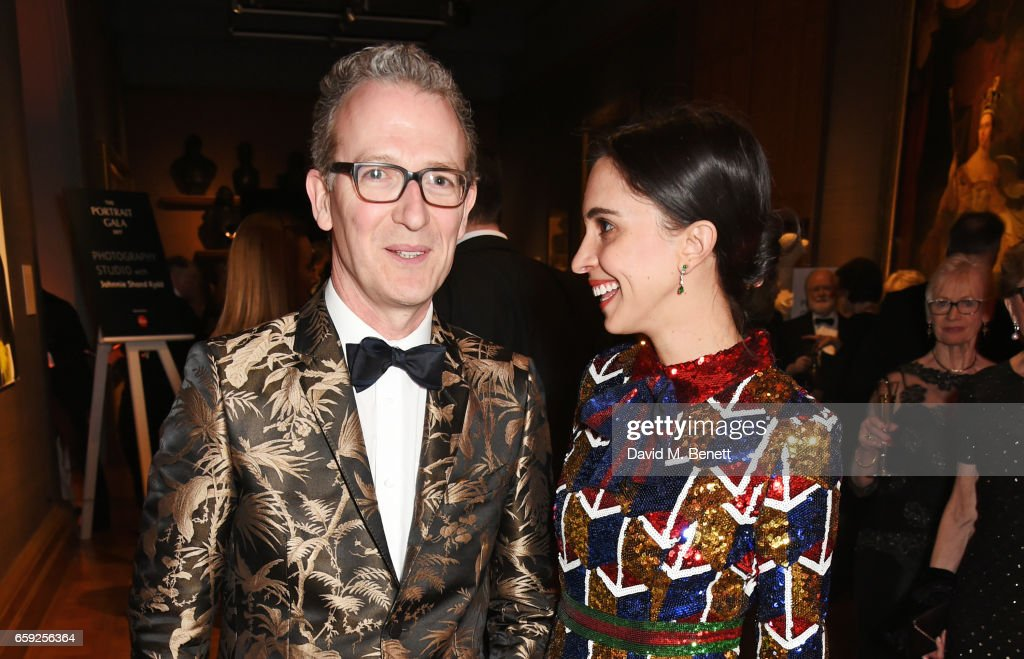 The Portrait Gala 2017 Sponsored By William & Son At The National Portrait Gallery : News Photo