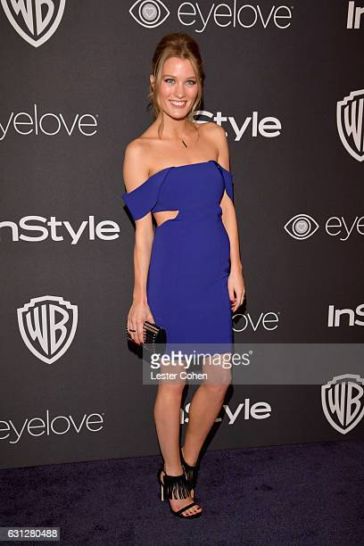 Ashley Hinshaw attends the 18th Annual PostGolden Globes Party hosted by Warner Bros Pictures and InStyle at The Beverly Hilton Hotel on January 8...
