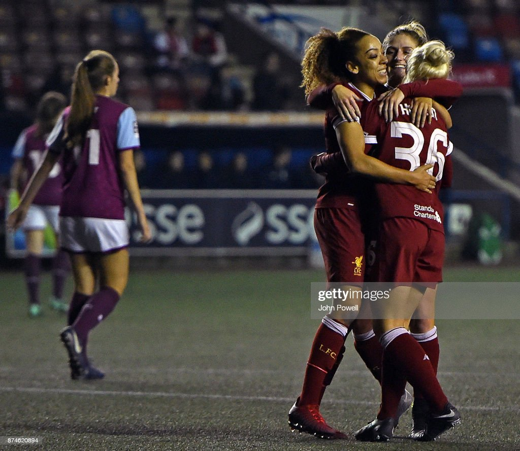 Liverpool Ladies v Aston Villa Ladies - WSL : News Photo