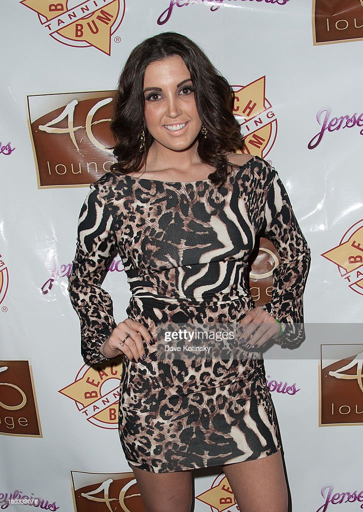 Ashley Holmes Laurita attends 'Jerseylicious' Season 5 Premiere Celebration at 46 Lounge on January 28, 2013 in Totowa City.