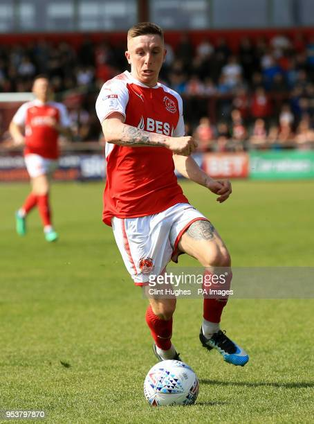 Ashley Hunter Fleetwood Town