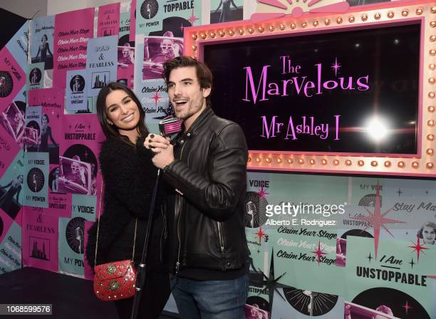 Ashley Iaconetti and Jared Haibon interact with an installation during Refinery29 Presents 29Rooms Los Angeles 2018 Expand Your Reality at The Reef...