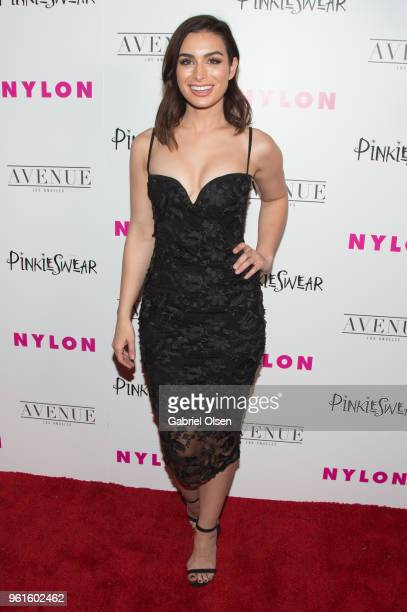 Ashley Iaconetti arrives for NYLON Hosts Annual Young Hollywood Party at Avenue on May 22 2018 in Los Angeles California