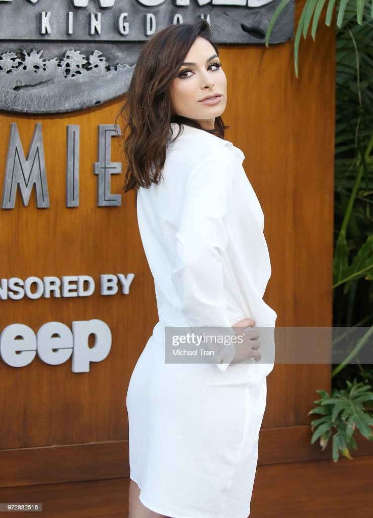 Ashley Iaconetti arrives to the Los Angeles premiere of Universal Pictures and Amblin Entertainment's 'Jurassic World: Fallen Kingdom' held at Walt Disney Concert Hall on June 12, 2018 in Los Angeles, California.