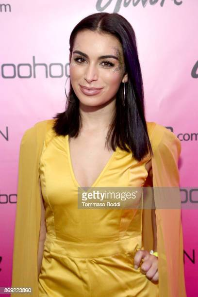 Ashley Iaconetti at the boohoocom LA Popup Store Launch Party with Galore Magazine on November 1 2017 in Los Angeles California