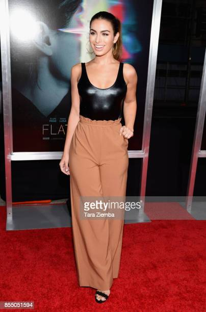 Ashley Iaconetti attends the premiere of Columbia Pictures' 'Flatliners' at The Theatre at Ace Hotel on September 27 2017 in Los Angeles California
