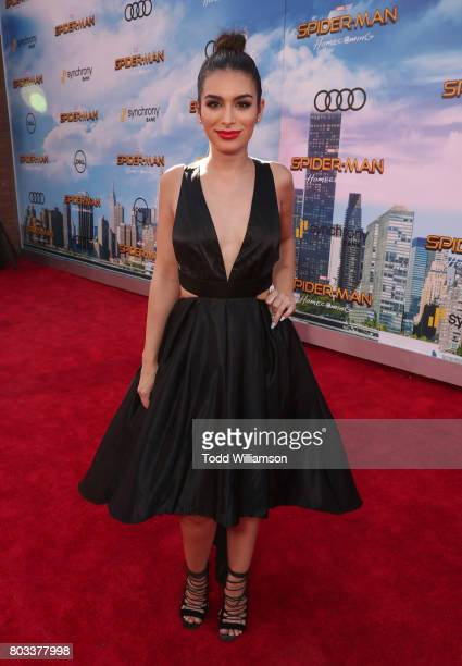 Ashley Iaconetti attends the premiere of Columbia Pictures' 'SpiderMan Homecoming' at TCL Chinese Theatre on June 28 2017 in Hollywood California