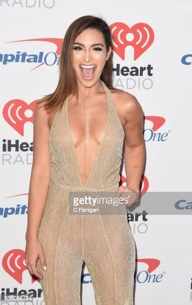 Ashley Iaconetti from the show 'The Bachelor' attends the 2017 iHeartRadio Music Festival at TMobile Arena on September 22 2017 in Las Vegas Nevada