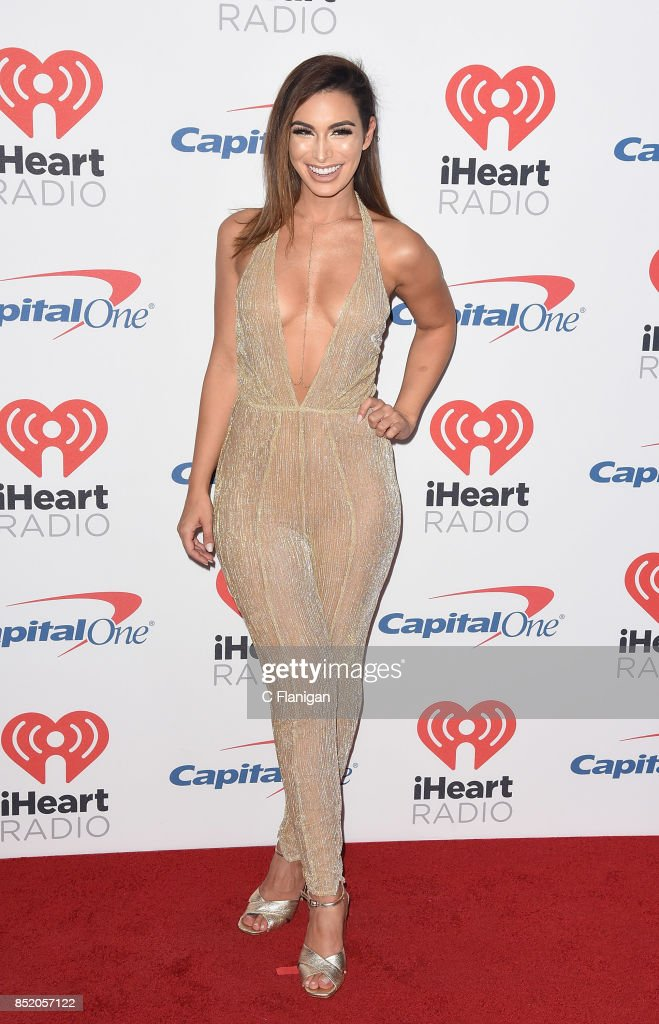 Ashley Iaconetti from the show 'The Bachelor' attends the 2017 iHeartRadio Music Festival at T-Mobile Arena on September 22, 2017 in Las Vegas, Nevada.