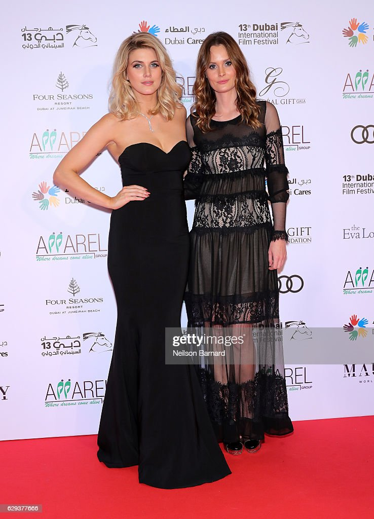 b8961524ab7 Ashley James and Charlotte De Carle attend the Global Gift Gala ...