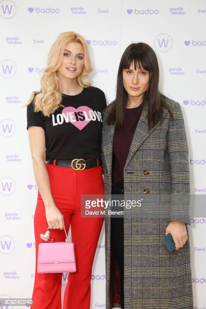 Ashley James and Valarie Stark attend as Badoo makes a bold statement this International Women's Day with their #WomenOfBadoo event A special menu by...