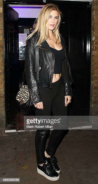 Ashley James attending Comedy Central's FriendsFest launch at the Boiler House on September 15 2015 in London England