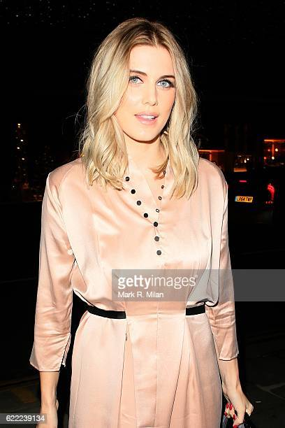 Ashley James attending the INTROPIA Party To Celebrating Their New Collection on November 10 2016 in London England