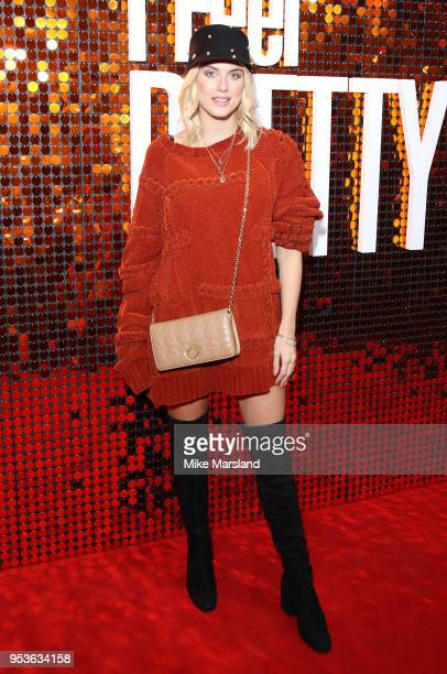 Ashley James attends a special screening of 'I Feel Pretty' at Picturehouse Central on May 1 2018 in London England