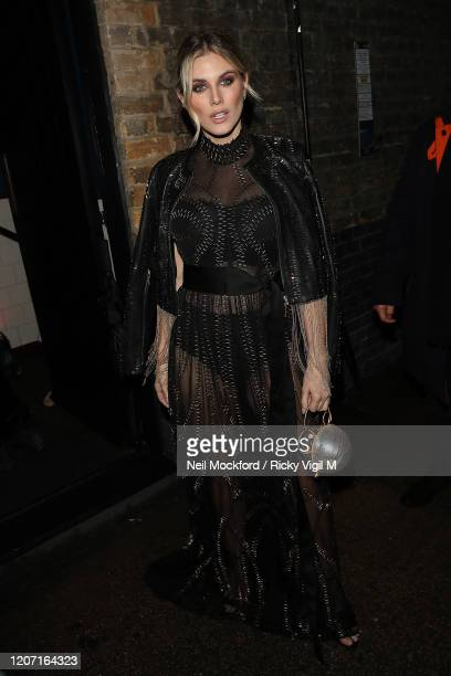 Ashley James attends a Warner Records BRIT Awards 2020 after party at Chiltern Firehouse on February 18, 2020 in London, England.