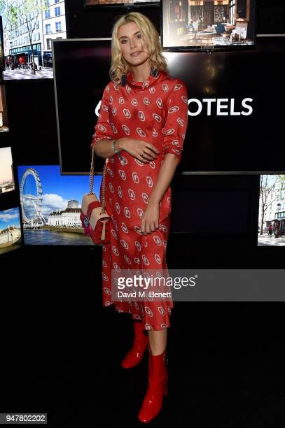 Ashley James attends as Marriott International celebrates worldclass loyalty programme with event including exclusive performance from Rag'n'Bone Man...