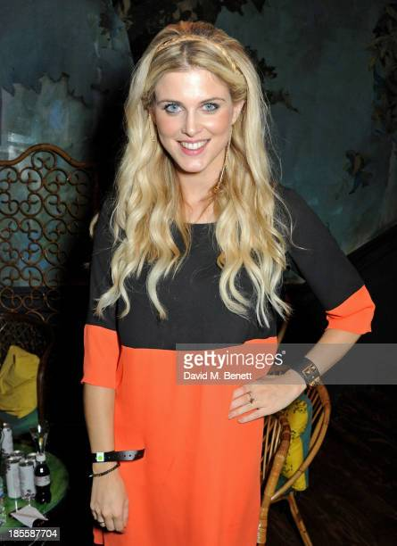 Ashley James attends Claire's Halloween Party featuring a secret performance by Union J at Sketch on October 22 2013 in London England
