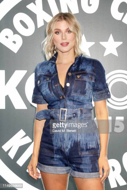 Ashley James attends KOBOX New Flagship studio launch party on King's Road on May 16 2019 in London England