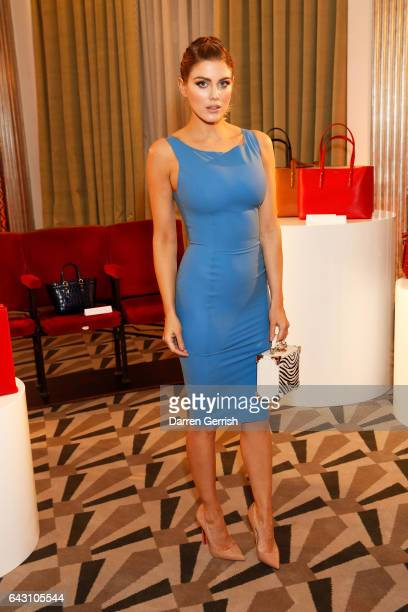 Ashley James attends the Aspinal of London Press Day on February 20 2017 in London England