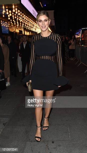 Ashley James attends the European Premiere of Mulan at Odeon Luxe Leicester Square on March 12 2020 in London England