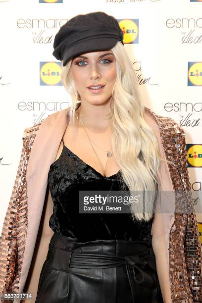 Ashley James attends the exclusive press preview launch of global supermarket brand Lidl's second Esmara by Heidi Klum collection on December 1 2017...