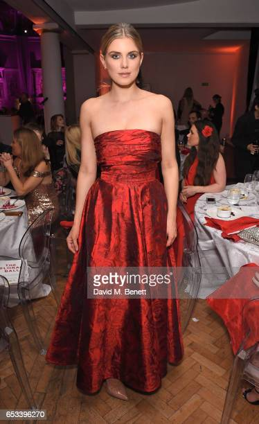 Ashley James attends The Floral Ball in aid of the Sheba Medical Centre at One Marylebone on March 14 2017 in London England