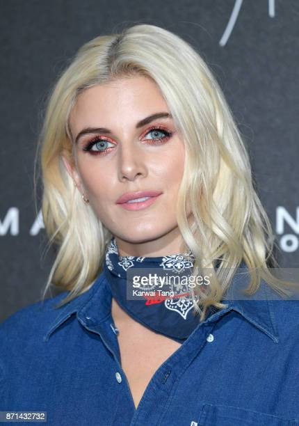 Ashley James attends the Gigi Hadid X Maybelline party held at 'Hotel Gigi' on November 7 2017 in London England