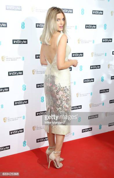 Ashley James attends the InStyle EE Rising Star Party at the Ivy Soho Brasserie on February 1 2017 in London England
