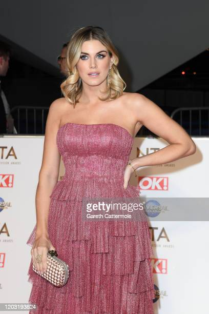 Ashley James attends the National Television Awards 2020 at The O2 Arena on January 28 2020 in London England