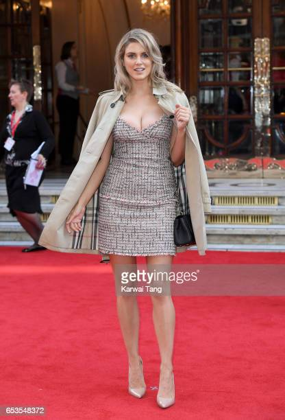 Ashley James attends the Prince's Trust Celebrate Success Awards at the London Palladium on March 15 2017 in London England