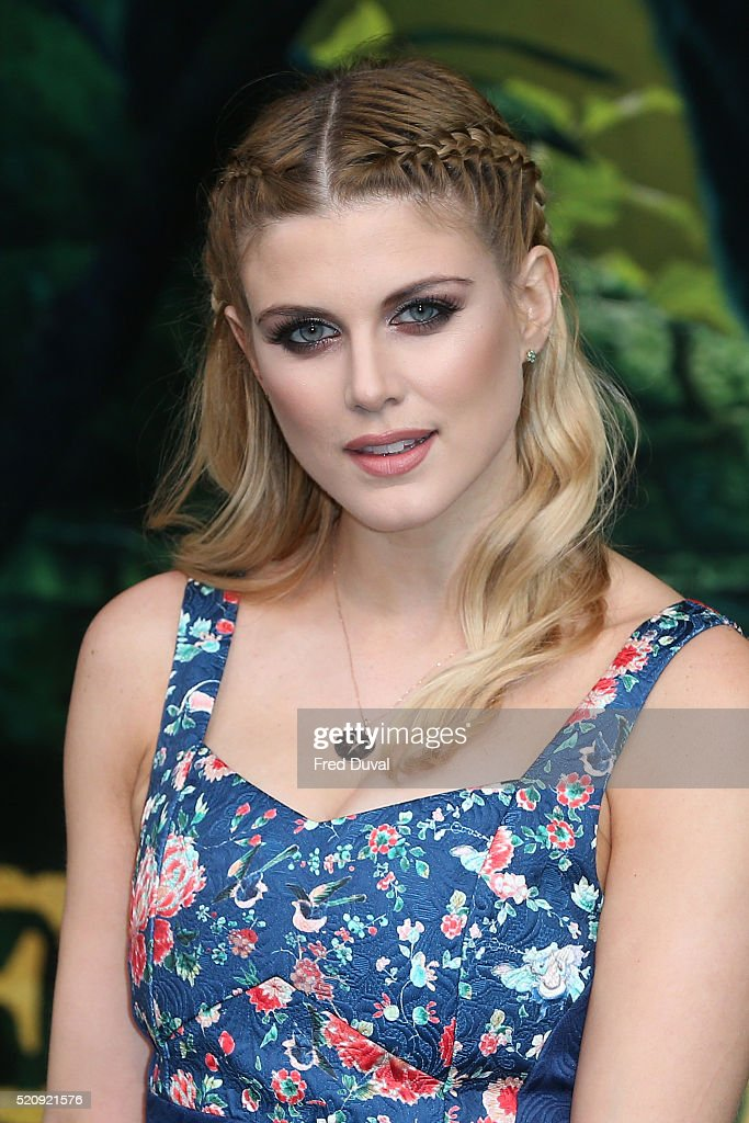 Ashley James attends the UK Premiere of 'The Jungle Book'at BFI IMAX on April 13, 2016 in London, England.