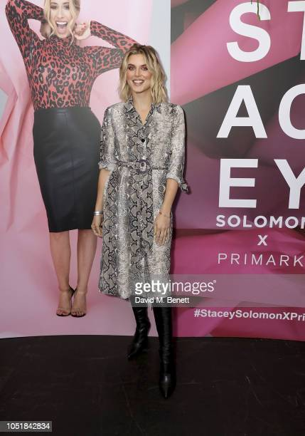Ashley James attends the VIP Party with Stacey Solomon as she celebrates the launch of her new collection with Primark on October 10 2018 in London...
