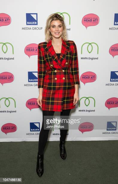 Ashley James attends the WhereÕs Your Head At breakfast event held by Bauer Media Natasha Devon MBE Mental Health First Aid England and Luciana...