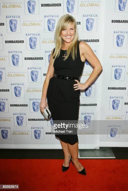 Ashley Jensen arrives to the 17th Annual BAFTA Los Angeles Britannia Awards held at the Hyatt Regency Century City Plaza Hotel on November 6, 2008 in...