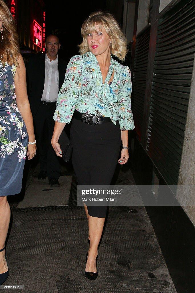 London Celebrity Sightings -  August 10, 2016