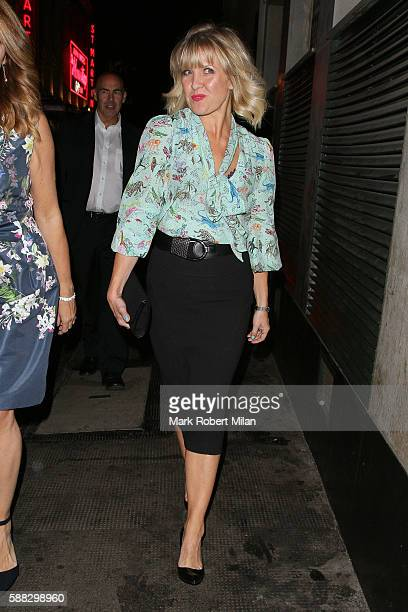 Ashley Jensen at the Ivy Club on August 10 2016 in London England